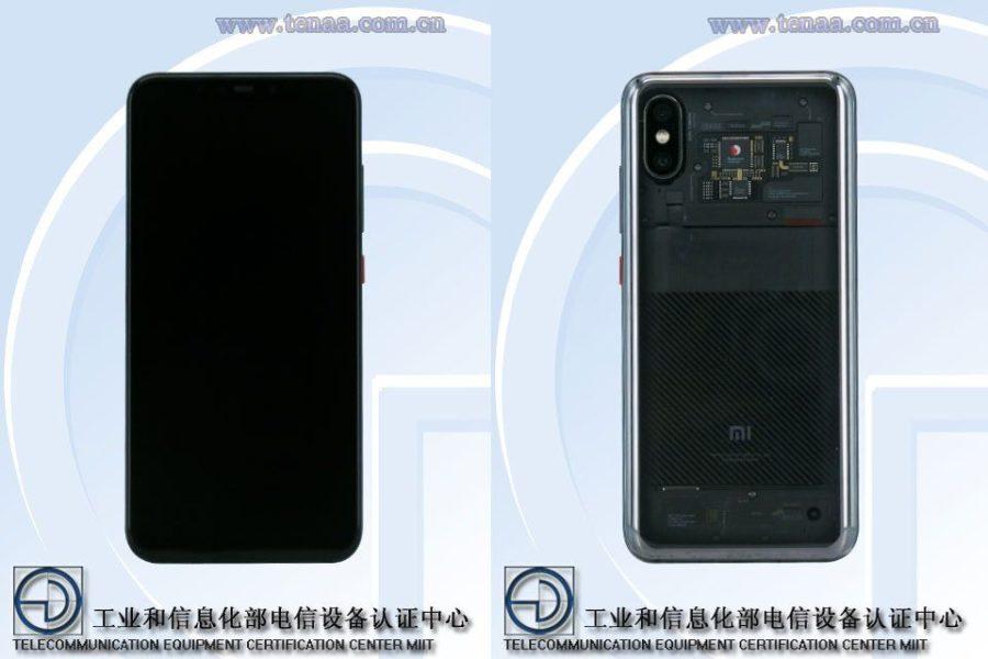 Xiaomi Mi 8 Explorateur Edition TENAA