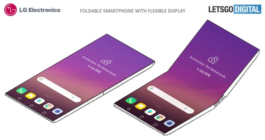Пакет LG Foldable Smartphone