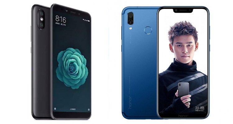 Xiaomi Mi A2 vs Honor Play: Revisión y comparación de precios