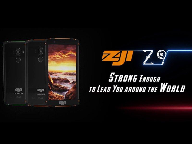 Smartphone HOMTOM ZOJI Z9