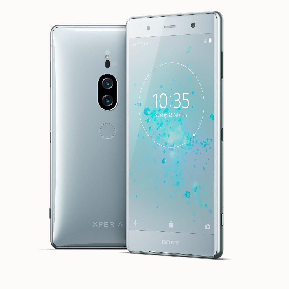 Sony-Xperia-xz2-Premium-хром-серебро