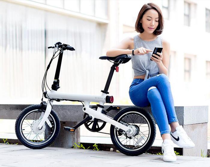Электро-велосипед Xiaomi QICYCLE EF1