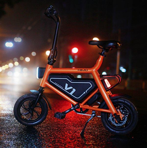 Электрический велосипед Himo