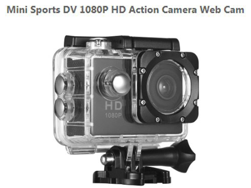 Mini Sports DV 1080P HD камера