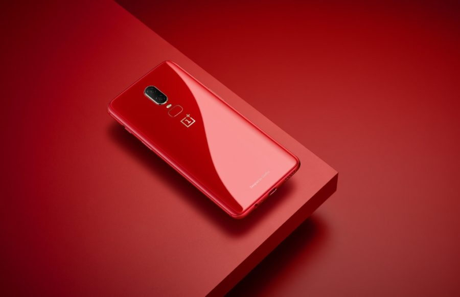 oneplus 6 rote Version