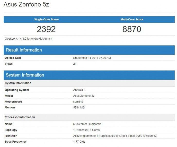 Обновление asus zenfone 5z android pie