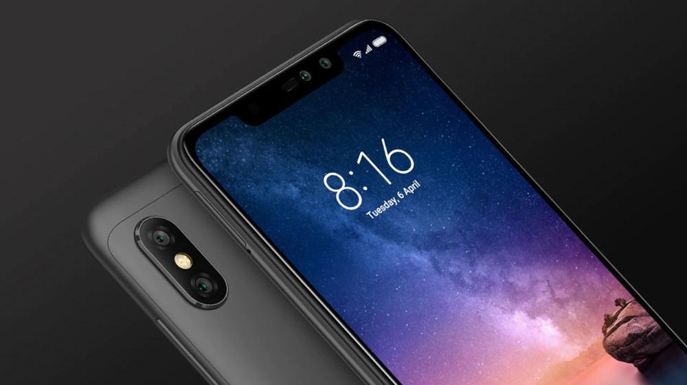 小蜜红米手机注意6临4G平板手机6.26英寸的Android 8.1的Qualcomm Snapdragon 636八溴核心1.8GHz 3GB RAM 32GB ROM 12.0MP + 5.0MP后置摄像头指纹传感器 - 黑色
