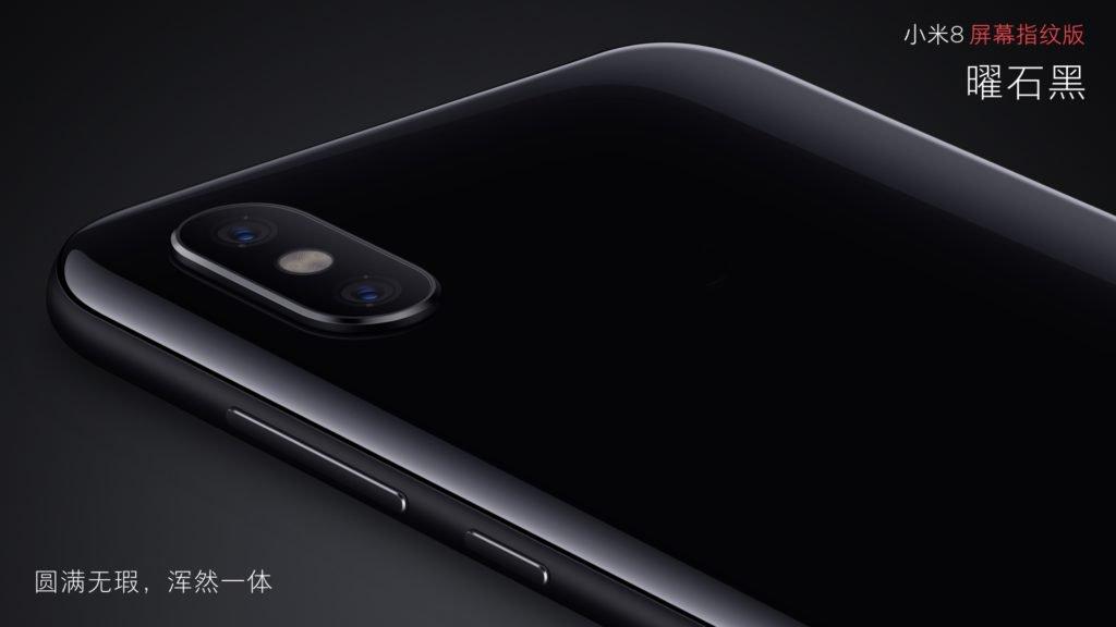 Xiaomi Mi 8 Pro Ochre Preto