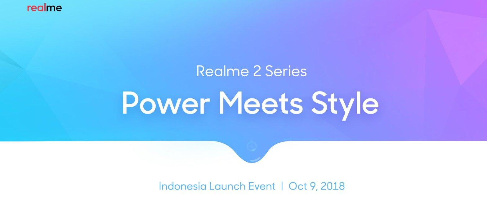 Запуск Realme 2 в Индонезии