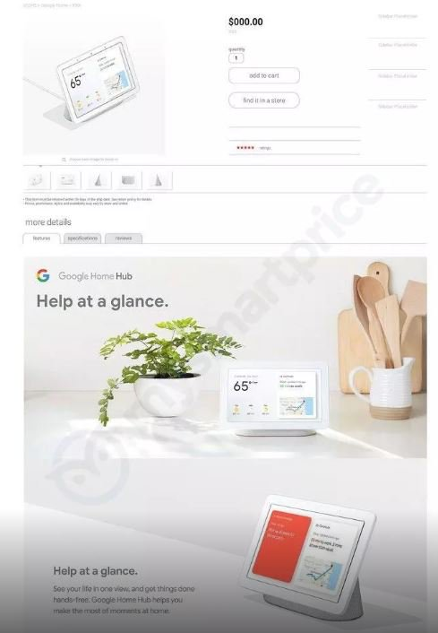 Google Home Hub Features