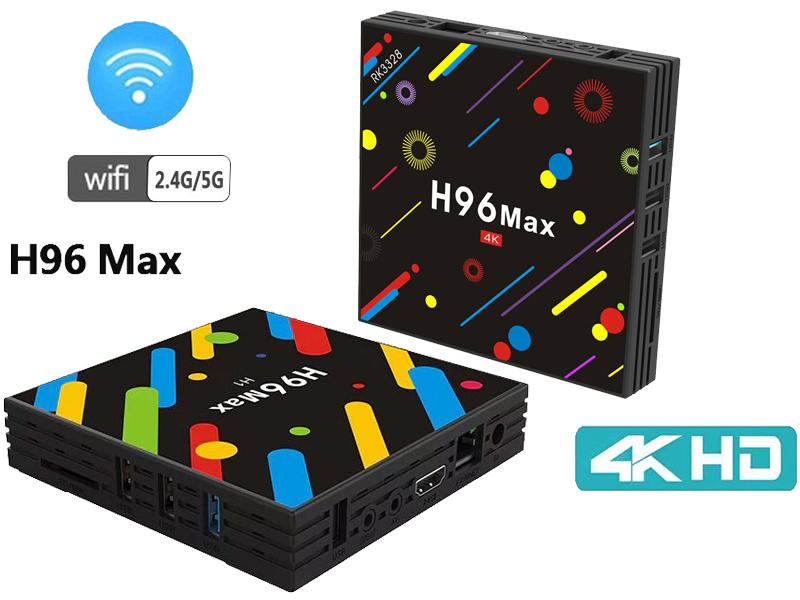 ТВ-приставка H96 MAX + 4K