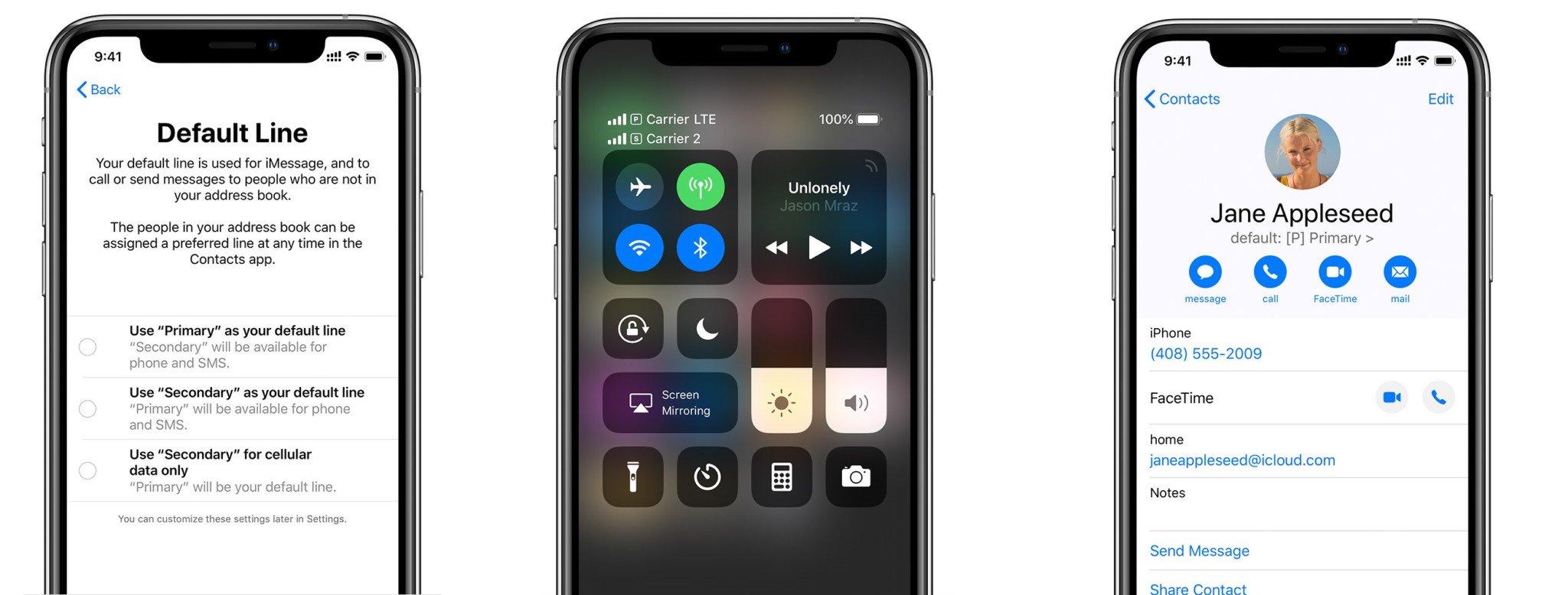 Особенности iPhone Xs и iPhone Xs Max Dual SIM