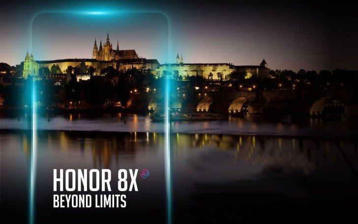Запуск Honor 8X Europe
