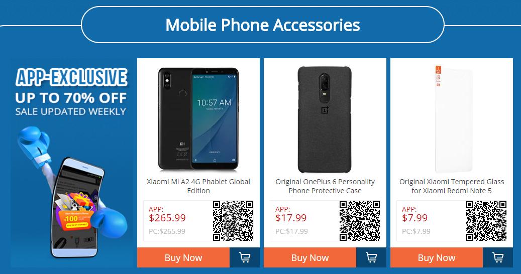 Acessórios para telemóveis - GearBest