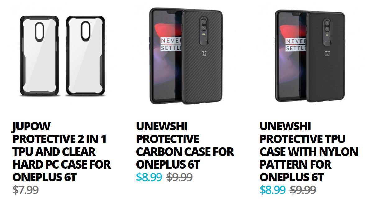 Корпуса OnePlus 6T Giztop