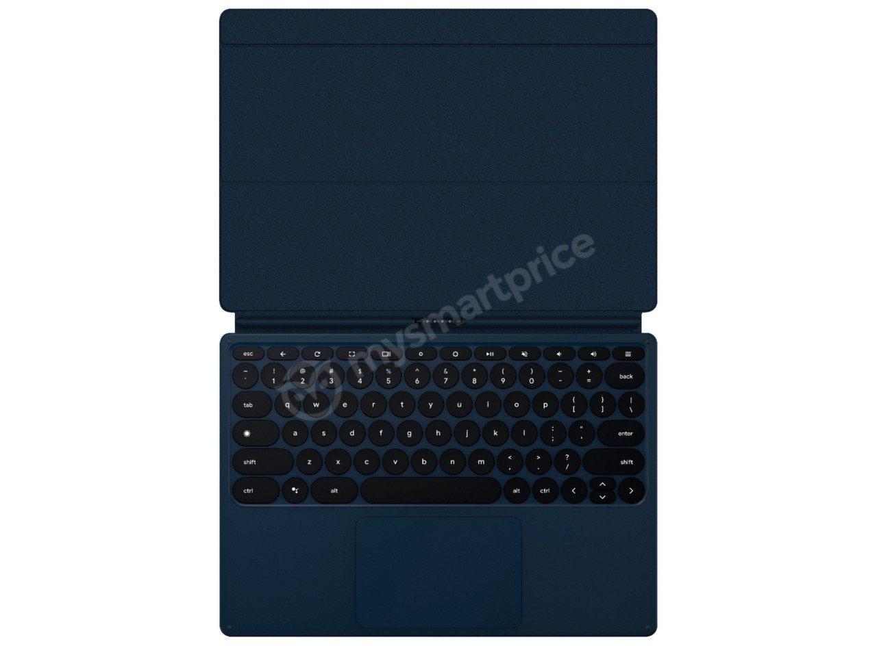 Google-Pixel-Slate-клавиатура