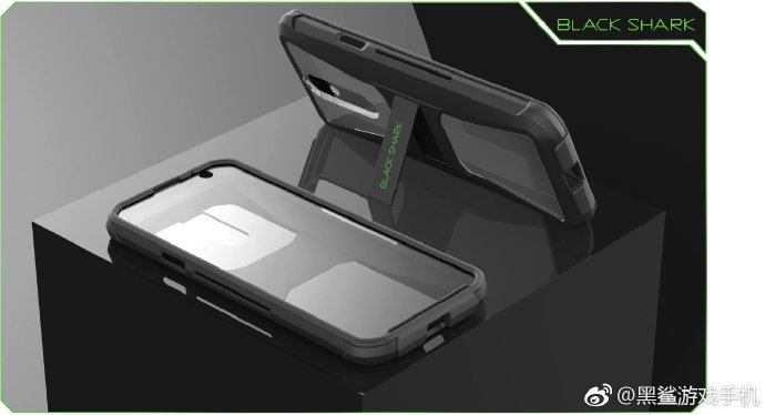Black Shark Helo 3D case
