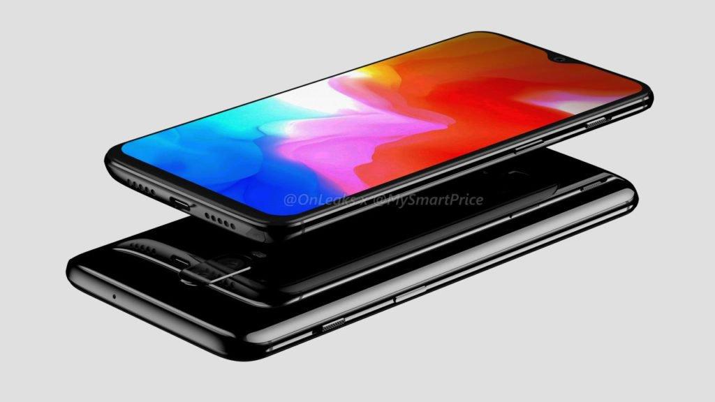 OnePlus 6T Renders