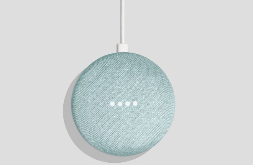 Google Mini Mini Aqua