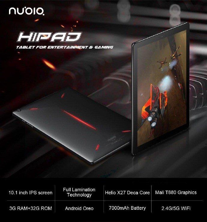 Игровая приставка Nubia Hipad