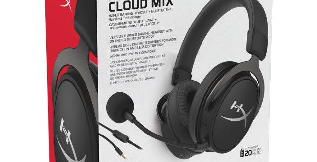 Kingston Hyperx Est Un Casque Cloud Mix Filaire Bluetooth
