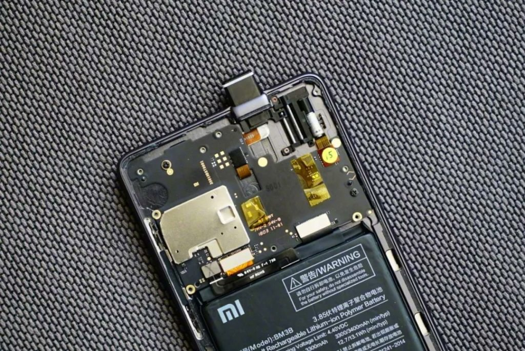 Xiaomi Pop-up camera prototype