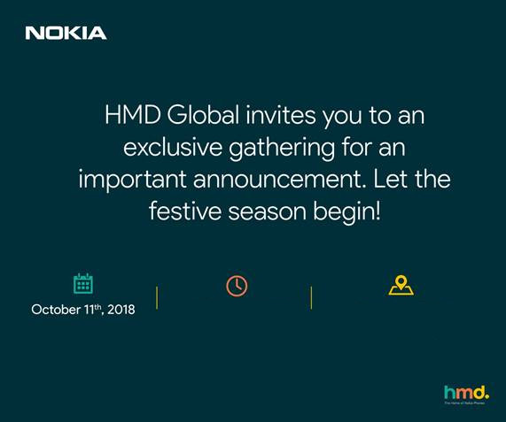 HMD Global 11 outubro