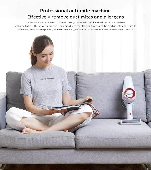 wireless, handheld vacuum cleaner JIMMY JV51 from Xiaomi YouPin