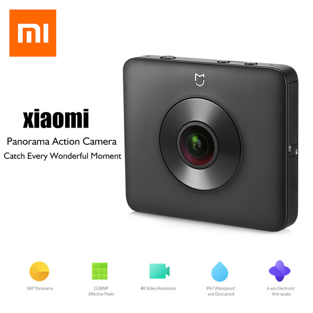 Camera Xiaomi Mi Sphere 4K Panorama