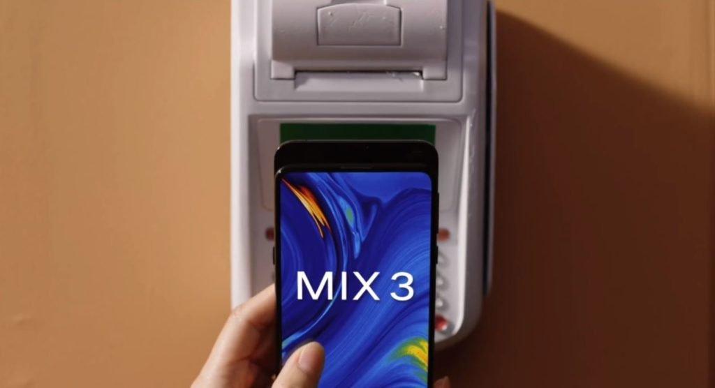 mi mix 3 тизер видео