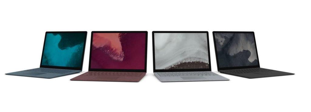 Поверхностный ноутбук 2