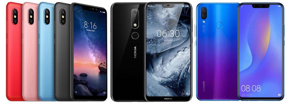 Xiaomi Redmi Note 6 Pro vs Realme 2 Pro vs Huawei Y9 (2019)