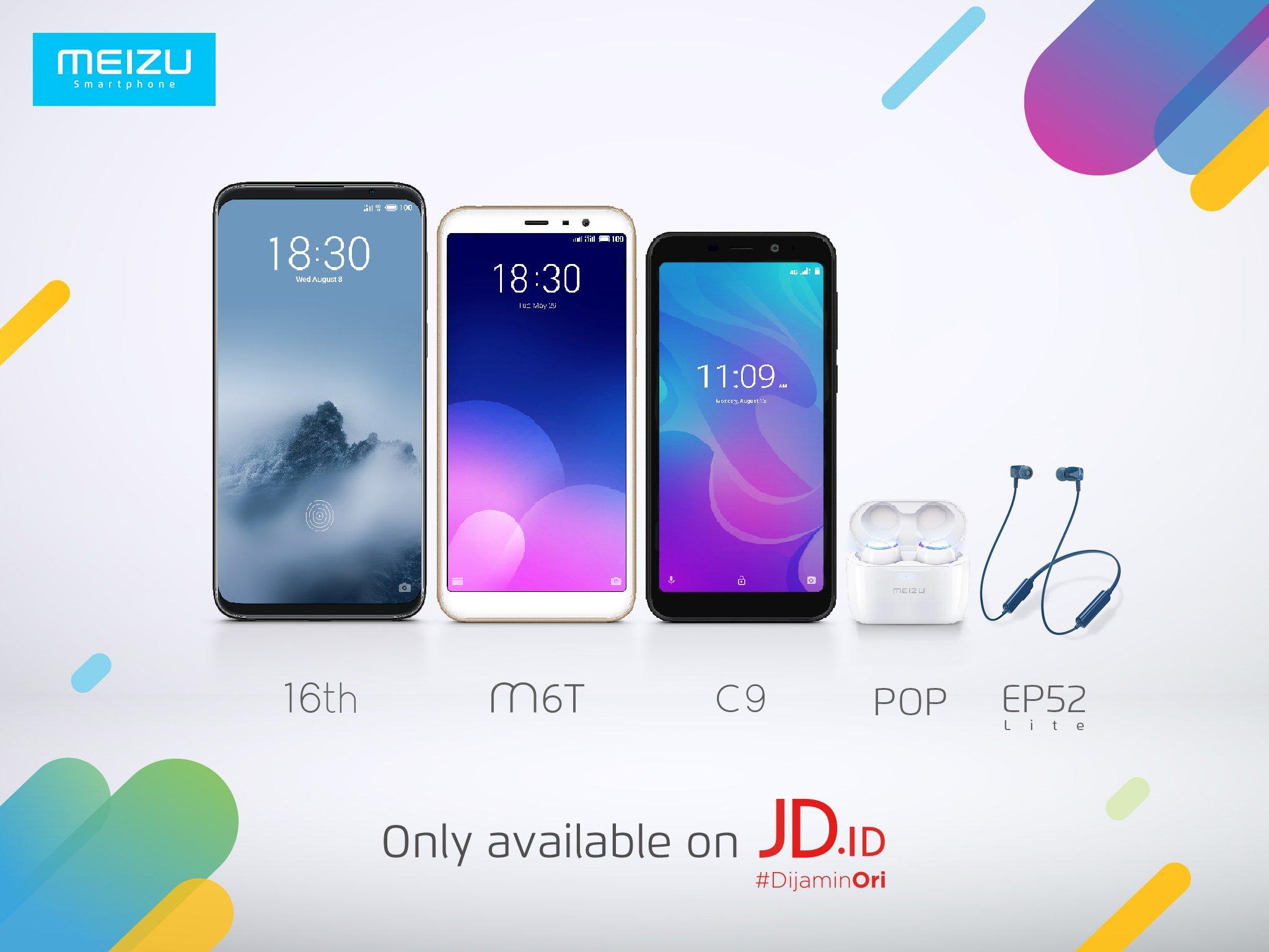 Meizu C9, Meizu 16 और अन्य इंडोनेशिया में लॉन्च किए गए