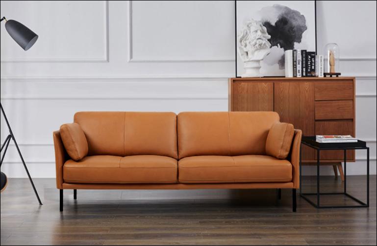 Кожаный диван Yang Zi