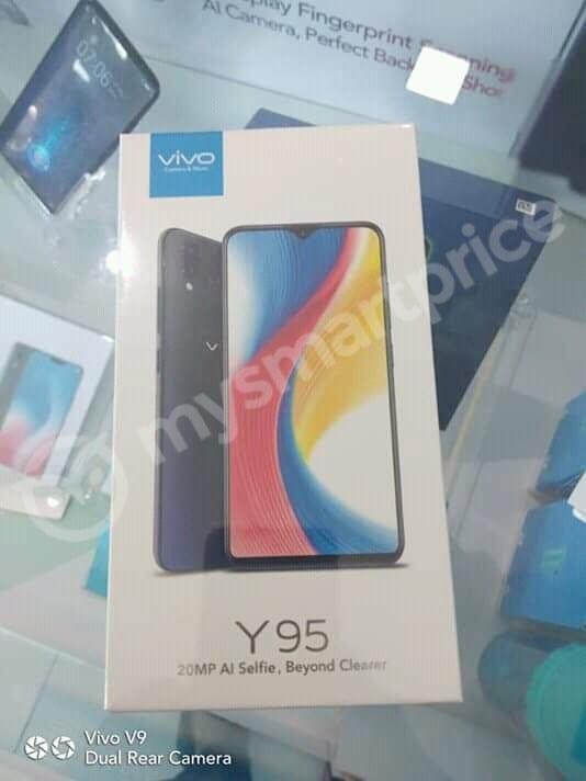 Vivo Y95 retail box