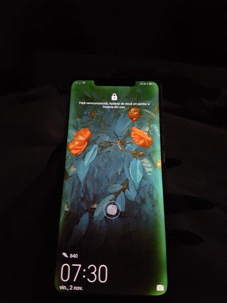 Problema de sangramento na tela do Huawei Mate 20 Pro