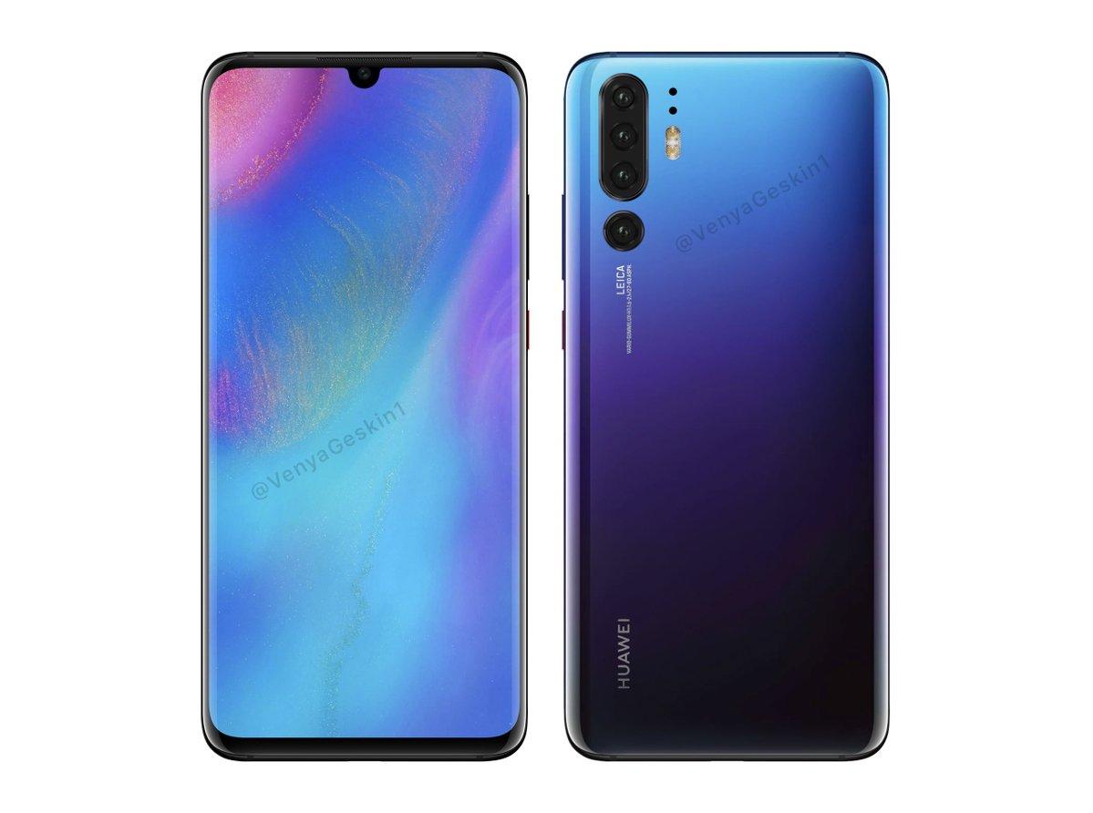 Huawei P30 Pro оказывает