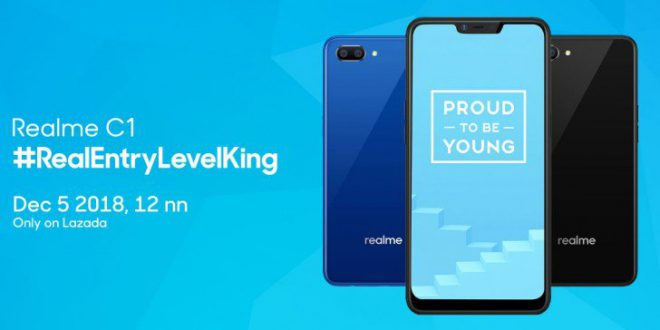 newest fe2d8 3afff OPPO Realme C1 launches December 5 in the Philippines through Lazada