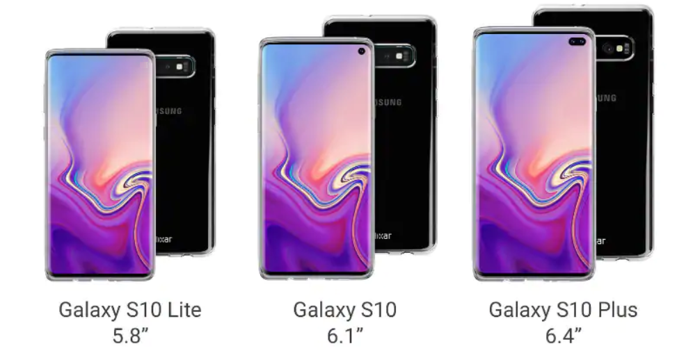 Утечка Samsung Galaxy S10 серии