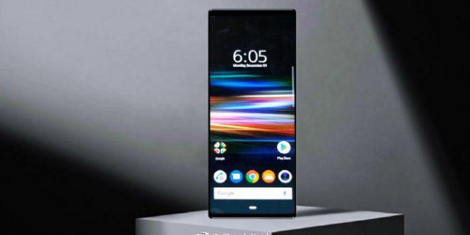 30baad1c8 صورة لسطح الشاشة الرئيسية من Sony Xperia XZ4 مع نسبة 21 9 نادرة