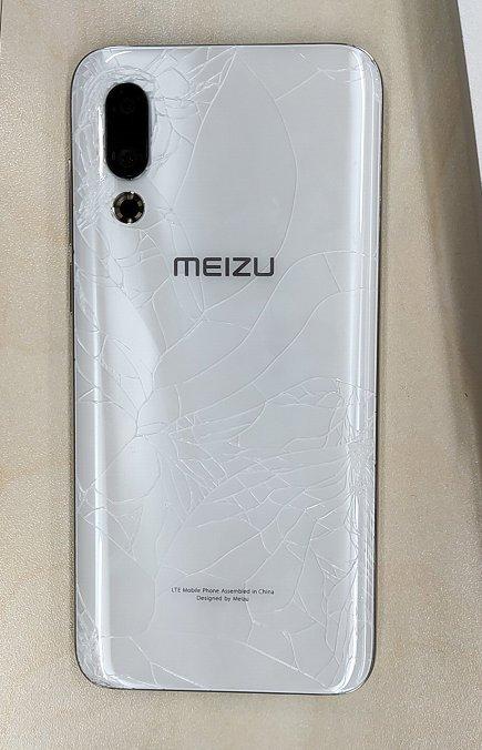 Meizu 16 х сломан