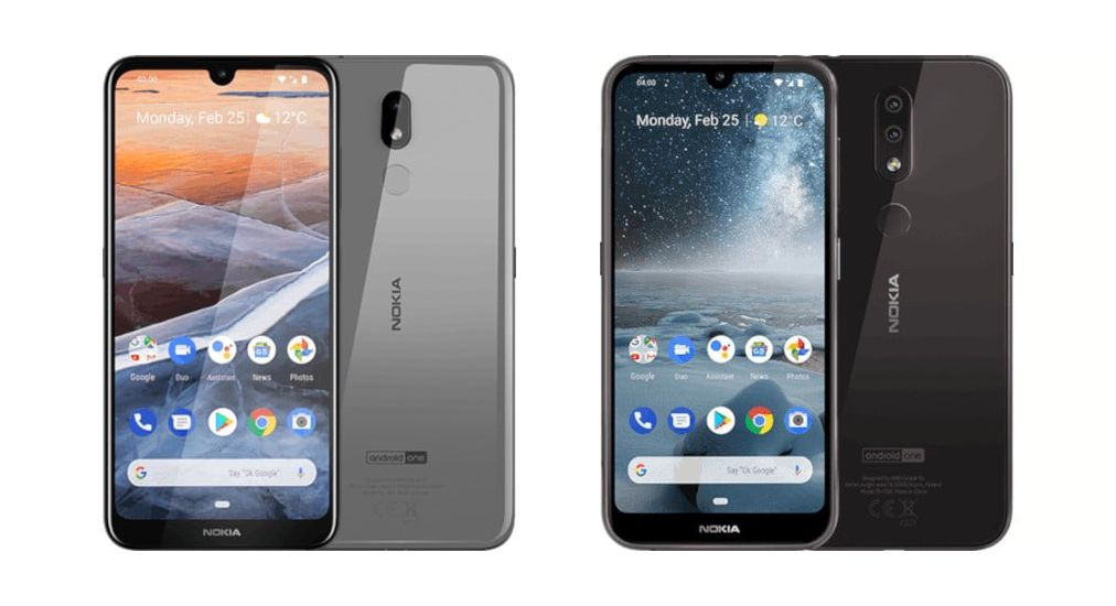 Nokia 3.2 и Nokia 4.2