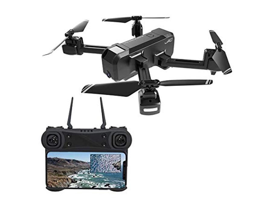 KF607 Quadcopter - черный 1080P камера