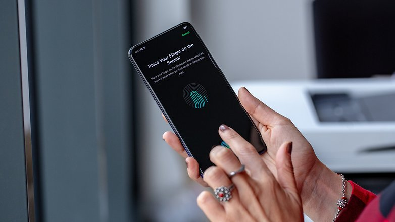realme x сканер отпечатков пальцев