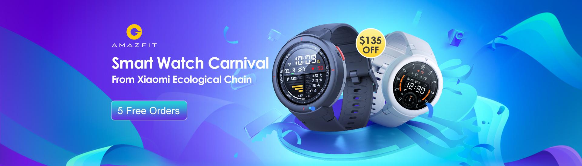 Amazfit Smart Watch Carnival на Banggood