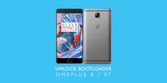 How to unlock the bootloader OnePlus 3 and 3T?