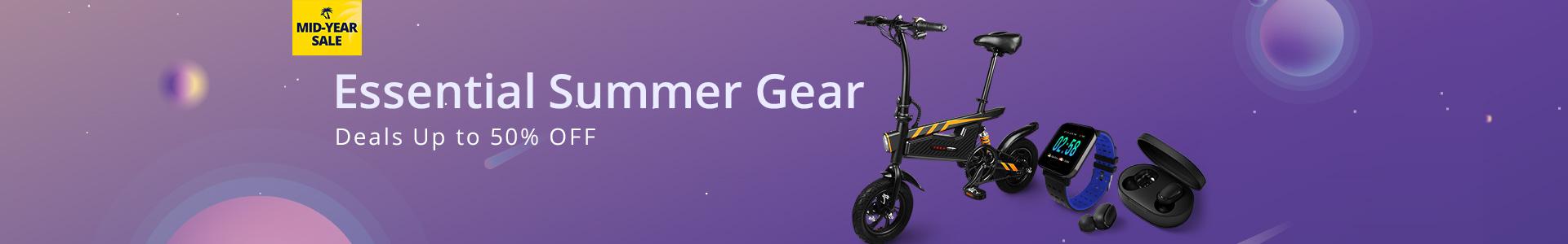 Sommerschlussverkauf von GearBest
