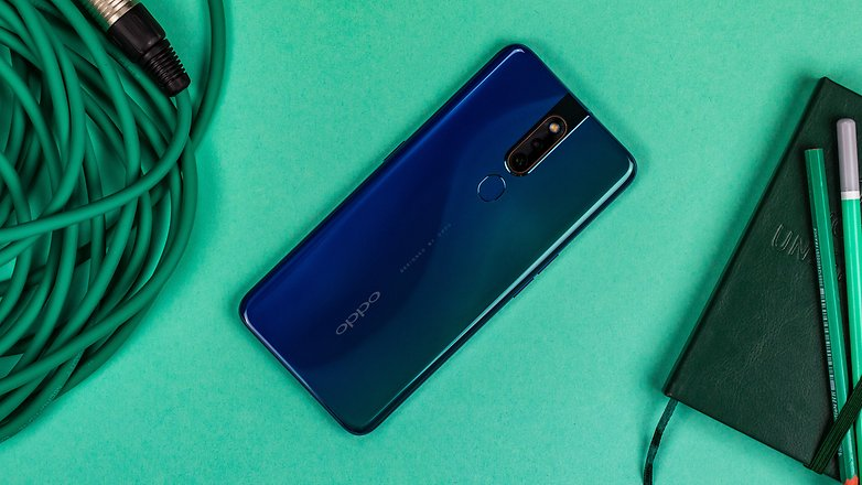 AndroidPPP OPPO F11 Pro полный назад