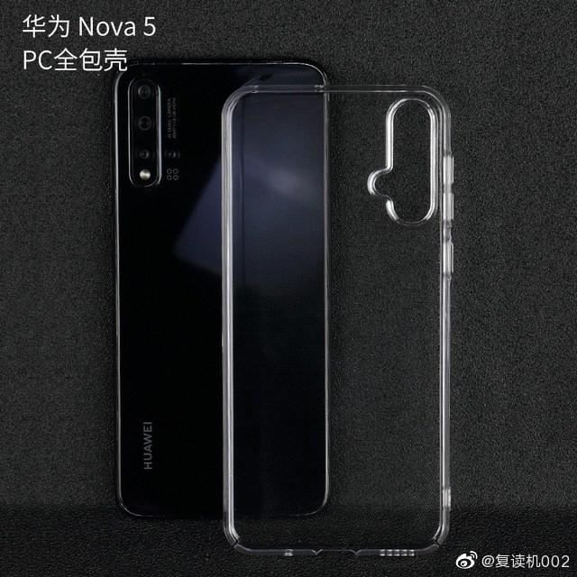 Huawei Nova 5 Pro Case Render