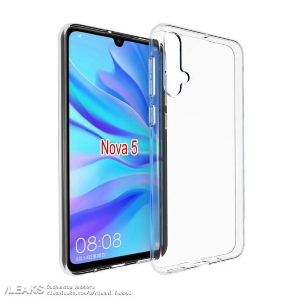 Huawei Nova 5 Case Render